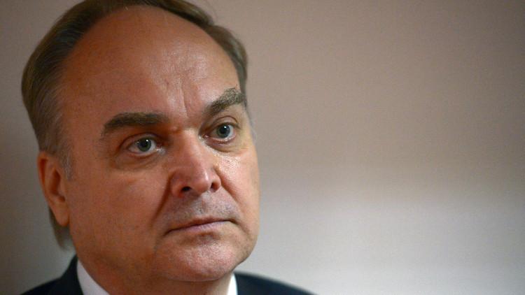 سفير روسيا لدى الولايات المتحدة أناتولي أنتونوف