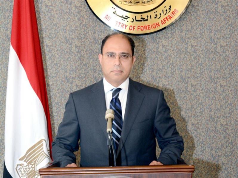 المتحدث الرسمي باسم وزارة الخارجية المصرية