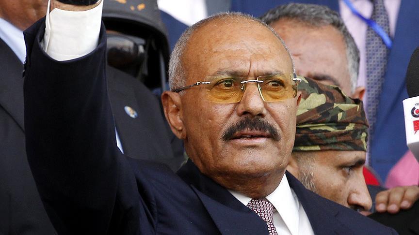 الرئيس اليمن السابق علي عبدالله صالح
