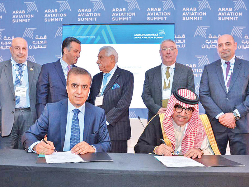 الرئيس التنفيذي لمجموعة العربية للطيران ورئيس قمة العرب للطيران عادل العلي