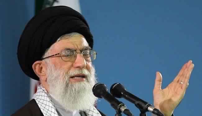القائد الأعلى الإيراني آية الله علي خامنئي