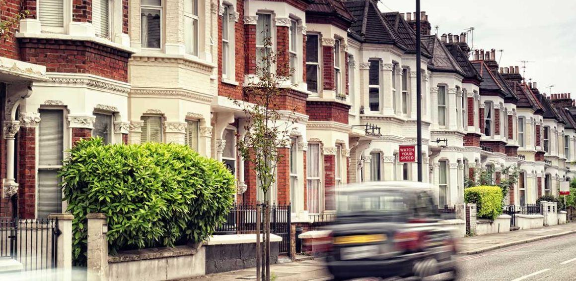 مساكن في المملكة المتحدة (أرشيفية)