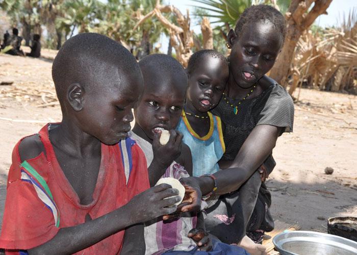 المجاعة في جنوب السودان