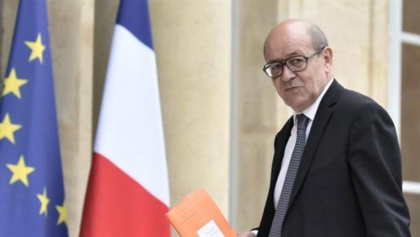 وزير الخارجية الفرنسي  جان آيف لودريان