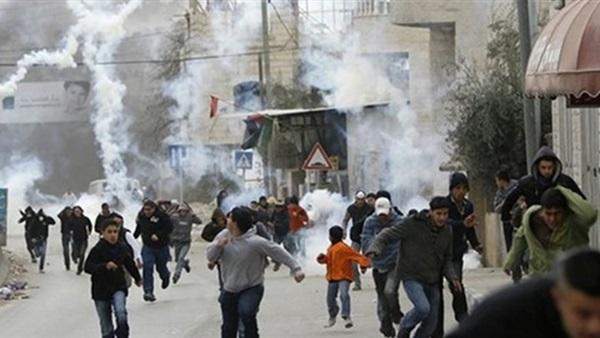 مواجهات فلسطينية إسرائيلية