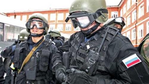 القوات الأمنية الروسية