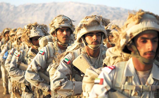 عناصر من الجيش الاماراتي (أرشيفية)