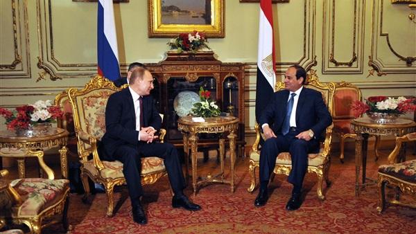السيسي و فلاديمير بوتين