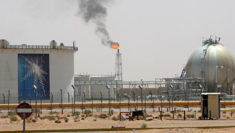 منصة نفط في السعودية