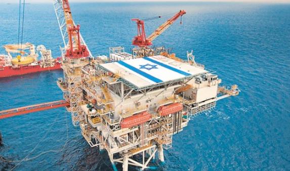 حقول الغاز الاسرائيلية (أرشيفية)