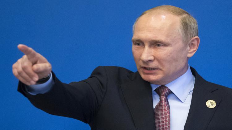 الرئيس الروسي فلاديمير