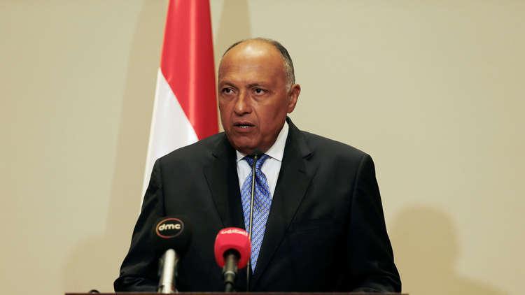 وزارة الخارجية المصرية سامح شكري