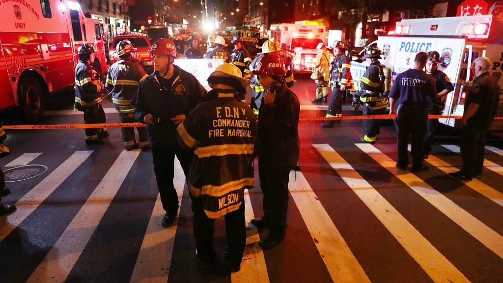 الإنفجار الإرهابي بنيويورك