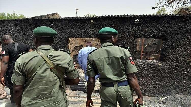 أفراد من الأمن النيجيري في مهمة