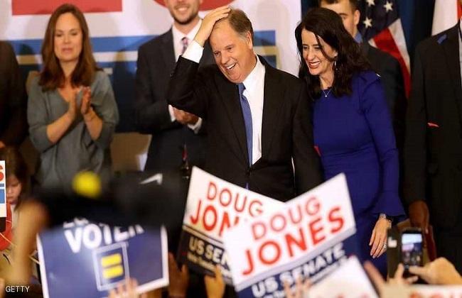 فوز المرشح الديمقراطي في انتخابات ولاية ألاباما لمجلس الشيوخ