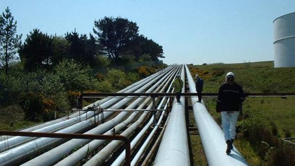 خطوط نقل الغاز