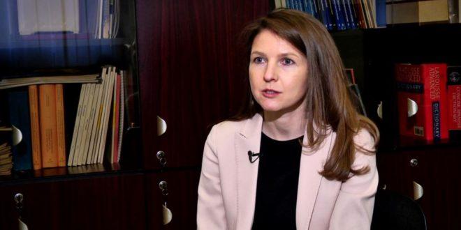 يوليا أوستيوغوفا رئيسة مكتب الصندوق في يريفان