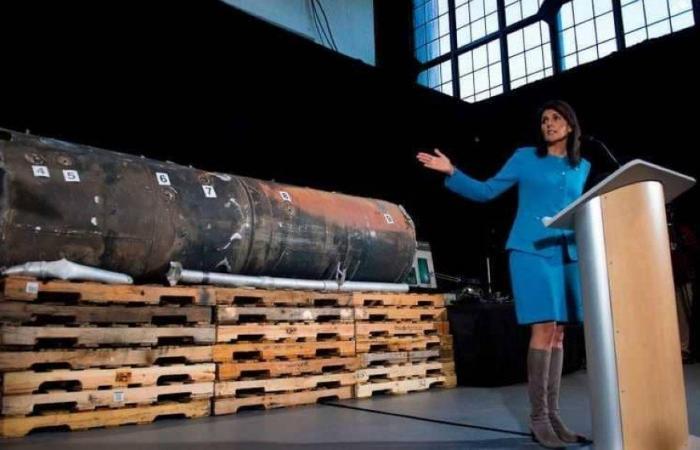 مندوبة الأمم المتحدة لدى الأمم المتحدة، نيكي هايلي
