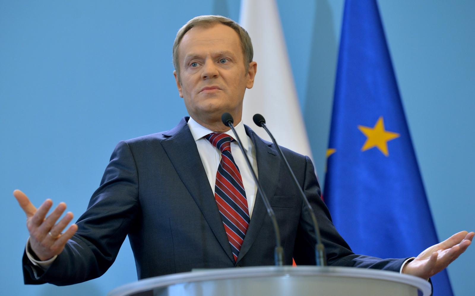دونالد توسك رئيس المجلس الأوروبي