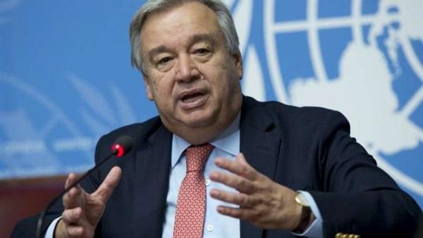 أمين عام منظمة الأمم المتحدة أنتونيو جوتيريس