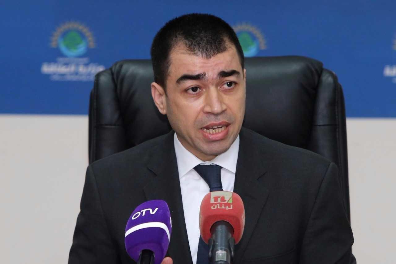 وزير الطاقة والمياه اللبناني سيزار أبي خليل