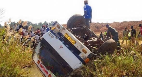 انقلاب حافلة شرق الكونغو الديموقراطية