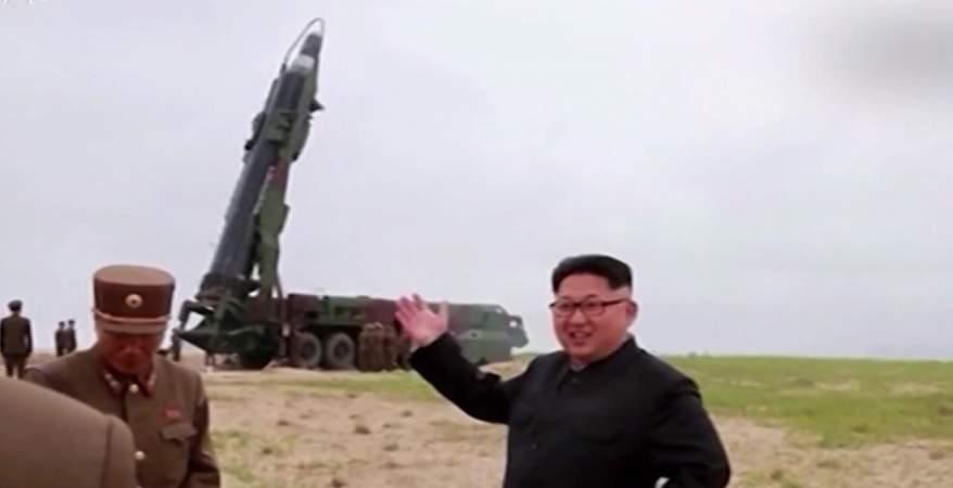 تجارب الأسلحة فى كوريا الشمالية