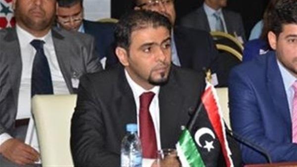 الدكتور أسامة حماد وزير المالية الليبي