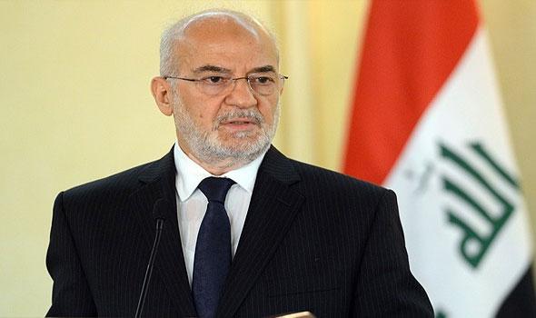 وزير الخارجية العراقي إبراهيم الجعفري