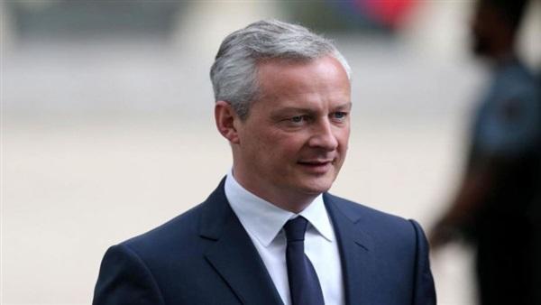 برونو لومير وزير الاقتصاد والمالية الفرنسي