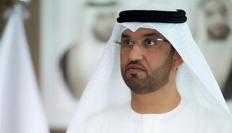 الدكتور سلطان بن أحمد الجابر وزير دولة الرئيس التنفيذي لشركة بترول أبوظبي الوطنية