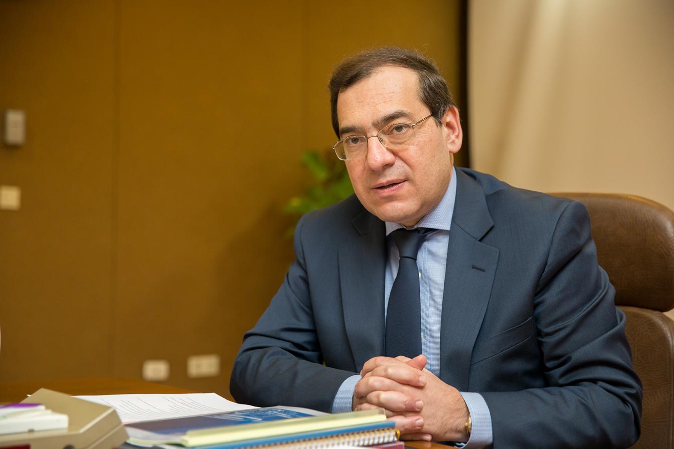 وزير البترول المصرى طارق الملا