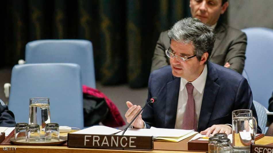 المندوب الفرنسي لدى الأمم المتحدة،فرانسوا دي لاتر
