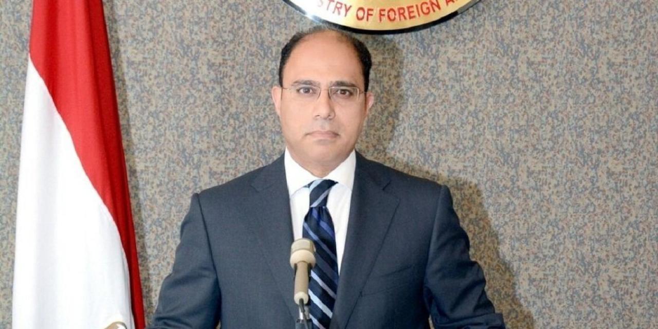 المستشار أحمد أبو زيد المتحدث الرسمي باسم وزارة الخارجية المصرية