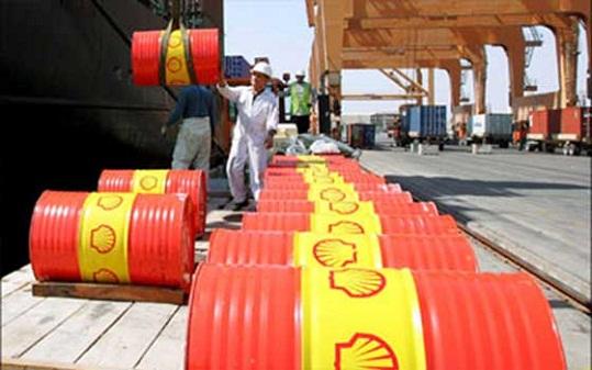 براميل النفط الخام
