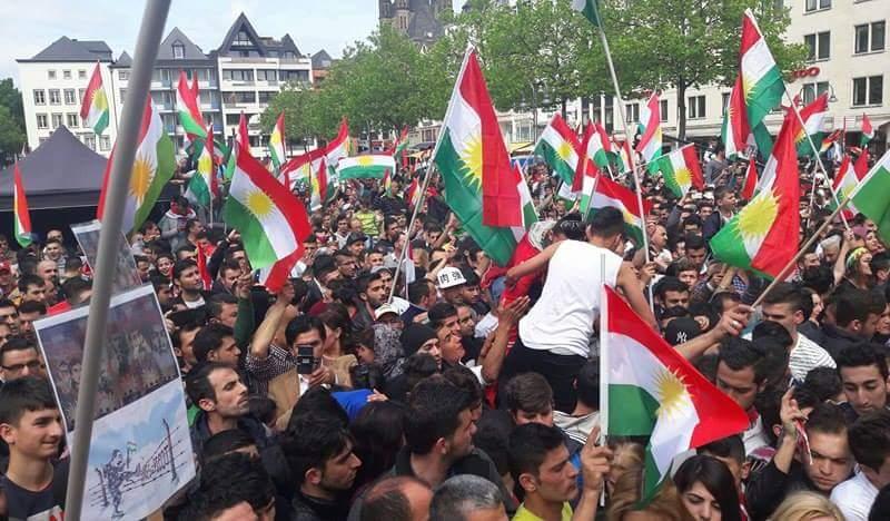 مظاهرات فى إقليم كردستان العراق