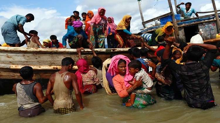 أقلية الروهينغا المسلمة في ميانمار