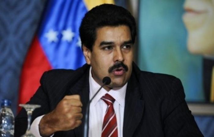 رئيس فنزويلا اليساري نيكولاس مادورو