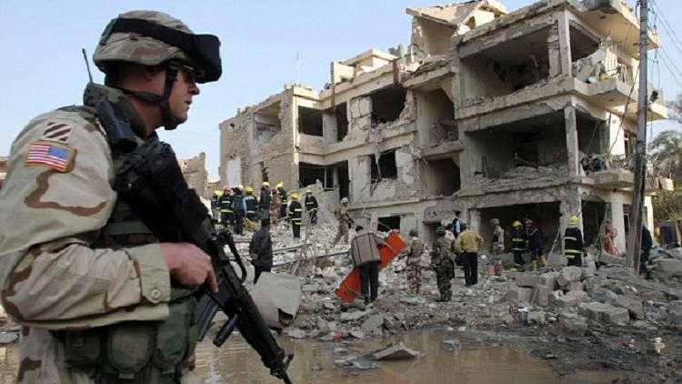 التواجد الأمريكي في العراق