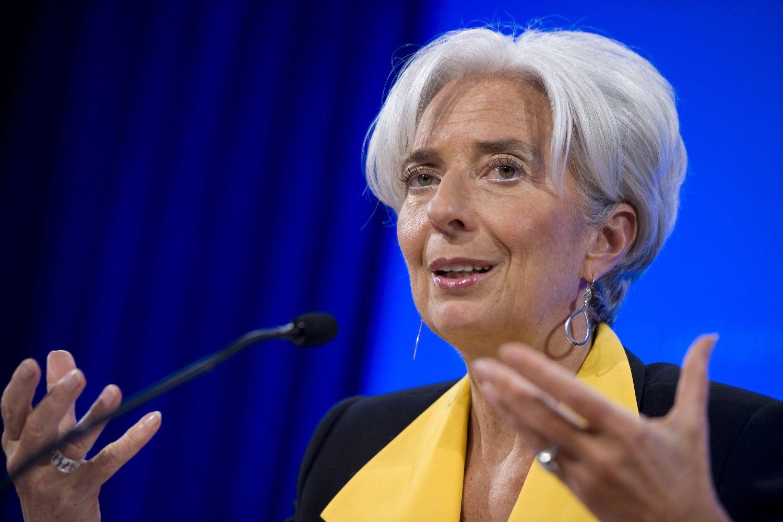 مديرة صندوق النقد الدولي كريستين لاجارد