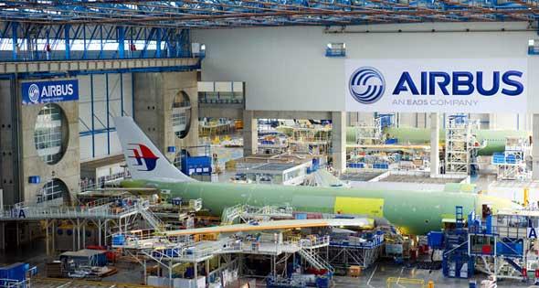 شركة إيرباص لصناعة الطائرات