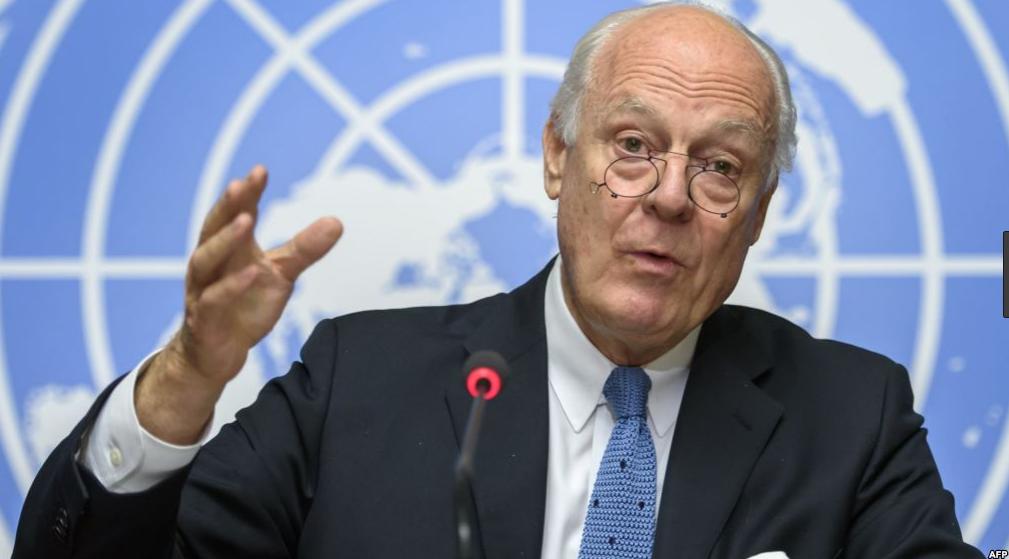 مبعوث الأمم المتحدة الخاص لسوريا ستافان دي ميستورا