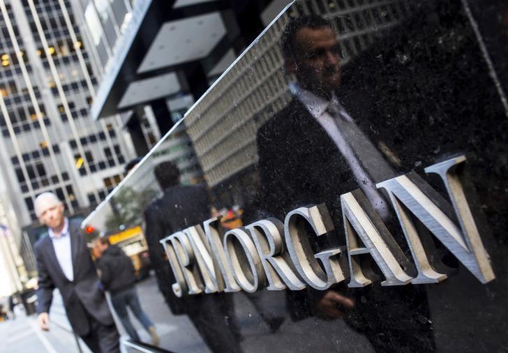 شعار جيه.بي.مورجان في نيويورك