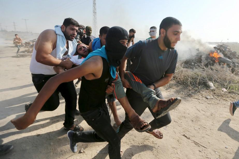 إستشهاد مواطنين برصاص الجيش الإسرائيلي في غزة