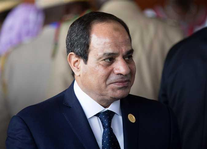 الرئيس المصري عبد الفتاح السيسى
