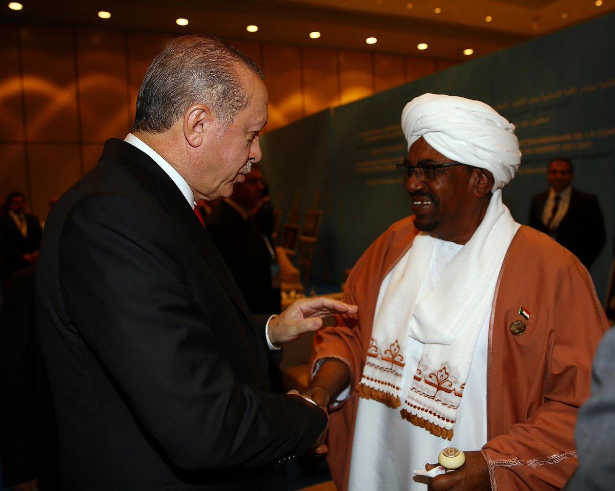 أردوغان وعمر البشير