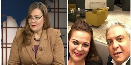 مذيعة بالتلفزيون المصري تهرب إلى تركيا