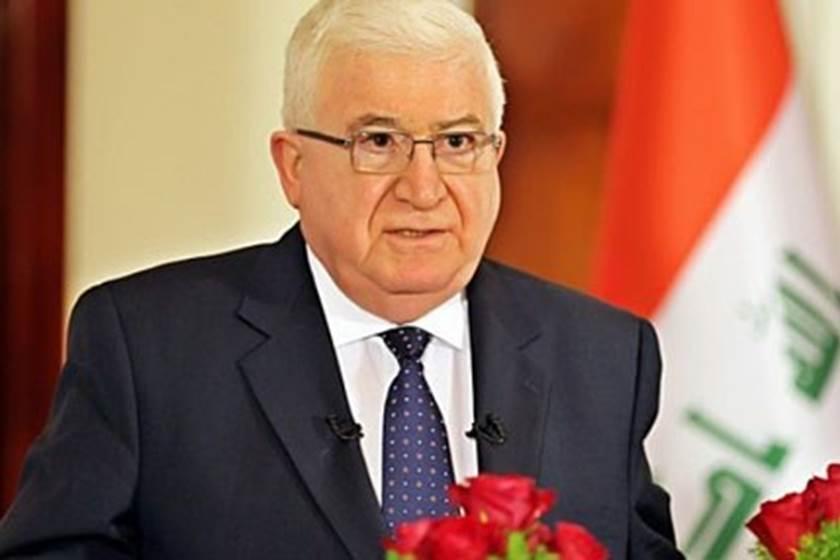 الرئيس العراقى فؤاد معصوم