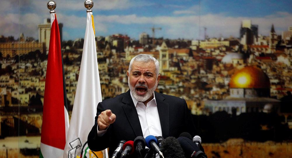 إسماعيل هنية رئيس المكتب السياسي لحركة