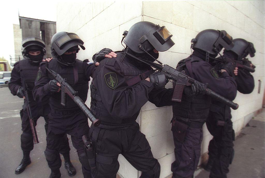 صورة أرشيفية لعناصر الشرطة الأوكرانية